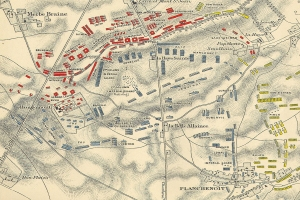 The_Battle_of_Waterloo_Map