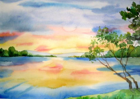 Watercolour Painting Course In Wollaton